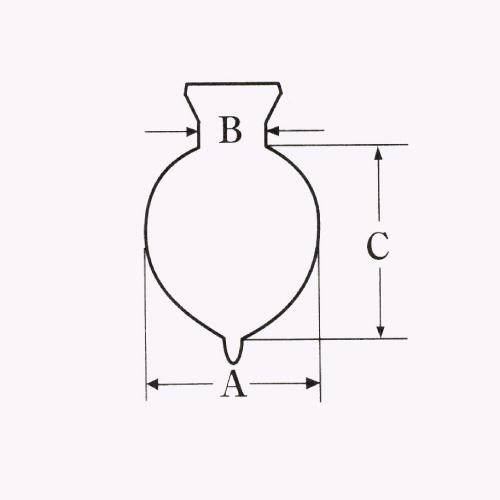 IWAKI 分液ロート(丸型) ブランク